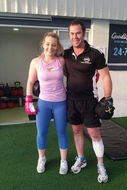 Personal training Cannon Hill QLD 4170 Weight loss, exercise, fit, health, strong. Post boxing session with Sarah. 15th May 2018