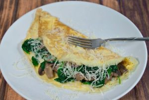 Mushroom-and-Spinach-Omelet-recipe